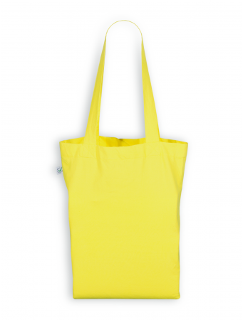 Tragetasche von EarthPositive in yellow