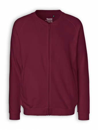 Zip Jacket von Neutral in bordeaux