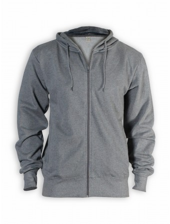 Zipper von EarthPositive in dark heather