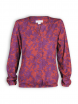Blusenshirt von Madness in Flower Print chilli/prune