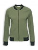 College Jacke von recolution in olive-green