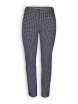 Hose Loui von Lana in grid nightblue