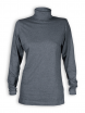 Rollkragen-Shirt von Living Crafts in anthracite melange