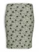 Schlauchrock von Lana natural wear in Delmara silver green