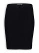 Schlauchrock von Lana natural wear in schwarz