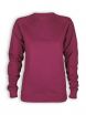 Sweatshirt von Neutral in bordeaux