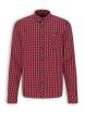 Kariertes Flanell Hemd von recolution in red/black