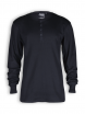 Longsleeve Granddad von Neutral in black