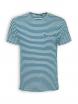 T-Shirt von GreenBomb in sailor blue stripes