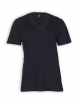 V-Neck T-Shirt von EarthPositive in black