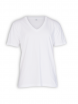 V-Neck T-Shirt von EarthPositive in white