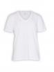 V-Neck T-Shirt von EarthPositive in white
