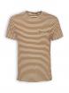 T-Shirt von GreenBomb in bombay brown stripes