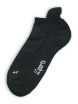 Sport-Sneaker Socken von Living Crafts in black